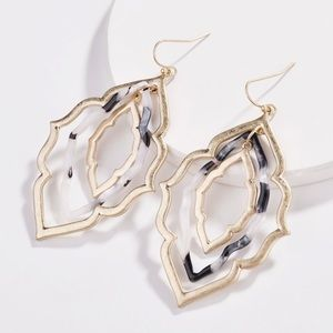 Jewelry - Boutique Layered Drop Earrings